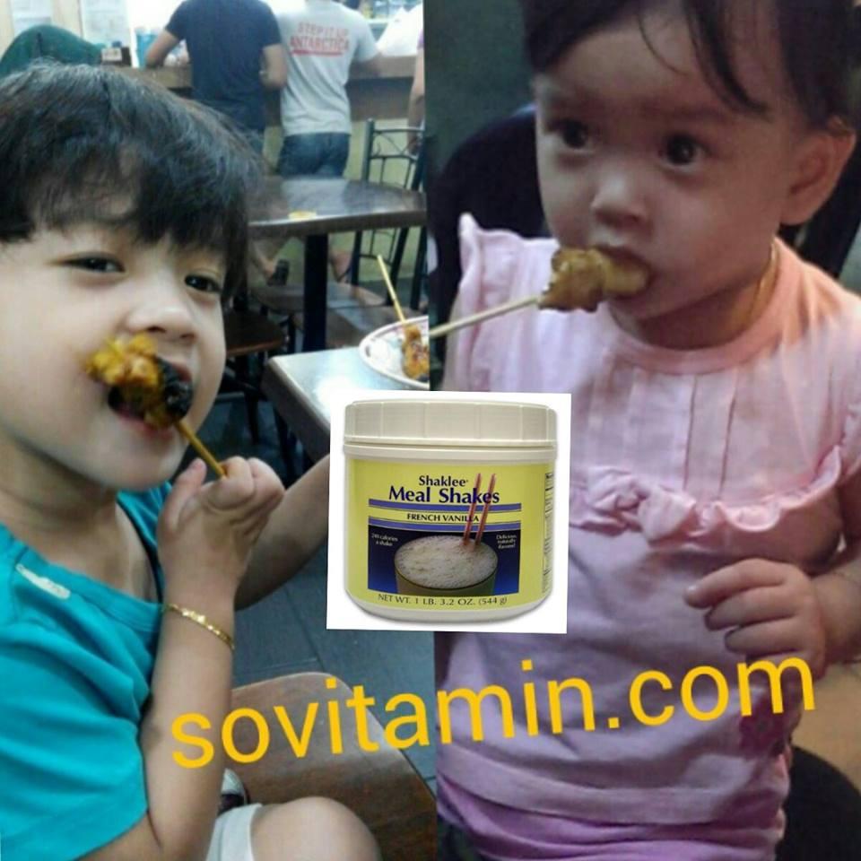 bella suka makan satay