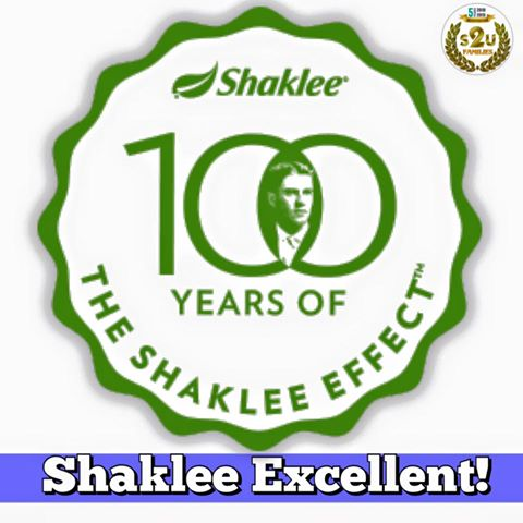 shaklee effect shaklee excellence