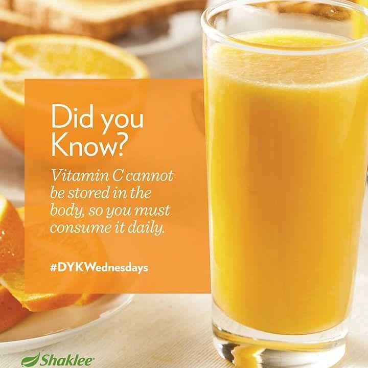 vitamin C tidak dapat disimpan