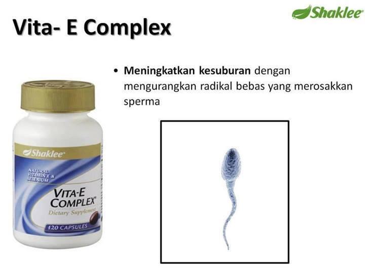 vitamin e untuk lelaki