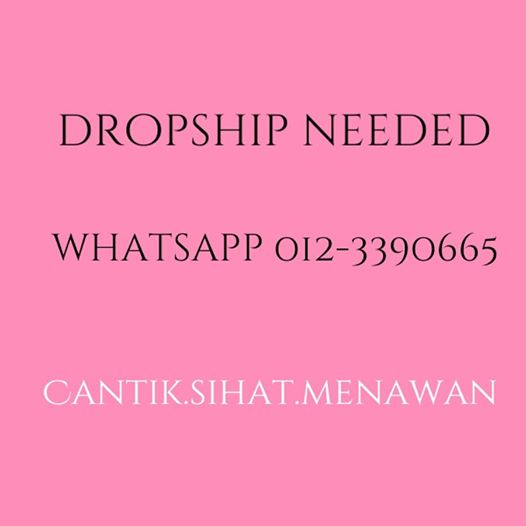 DROPSHIP NEEDED!