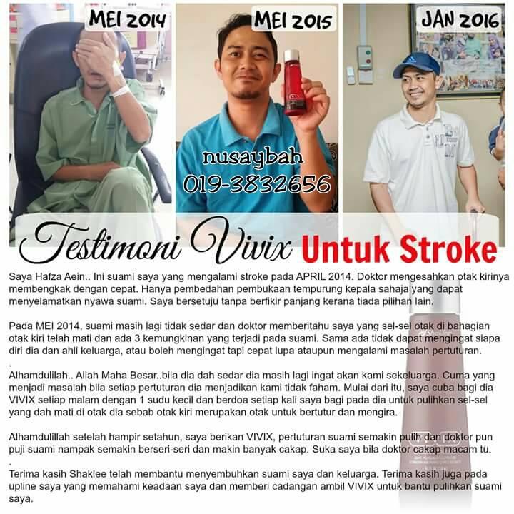 stroke dan vivix