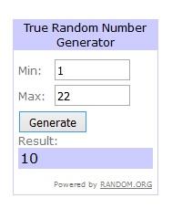 pemenang giveaway 2