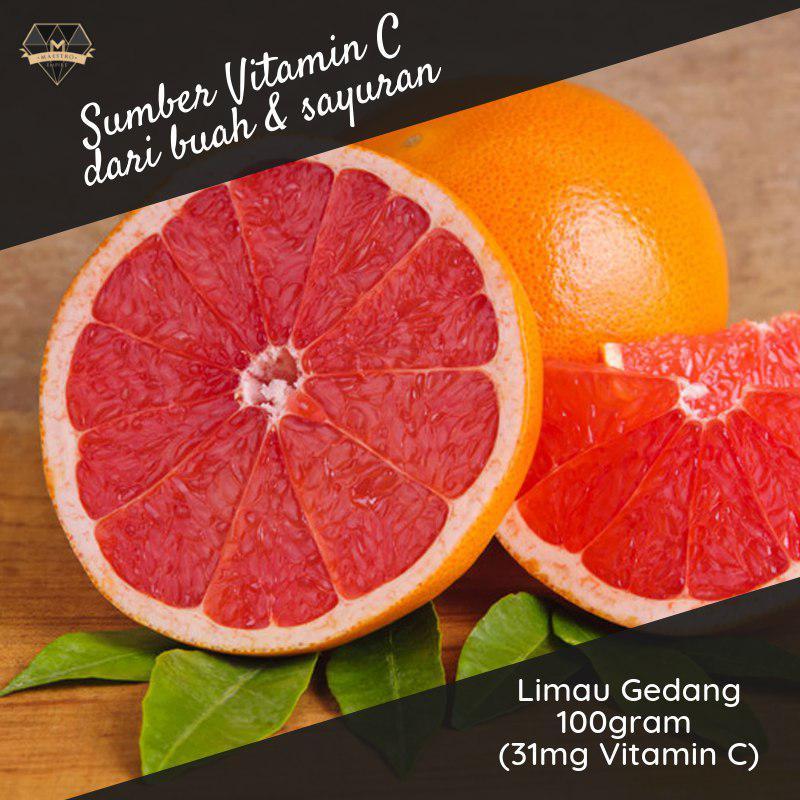 limau gedang sumber vitamin c