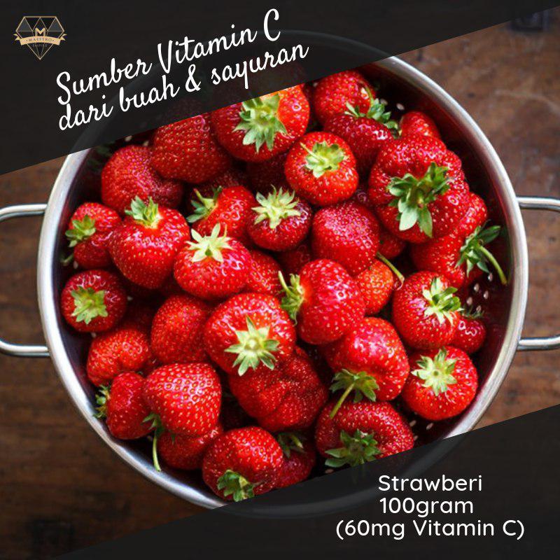strawberi sumber vitamin c