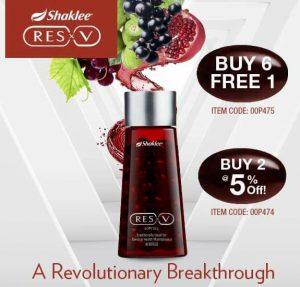 Promosi ResV Shaklee