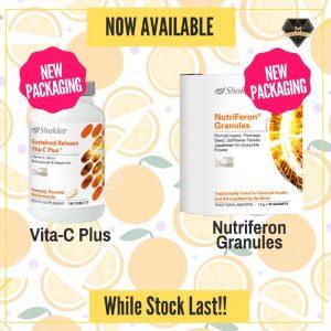 Vitamin C dan Nutriferon Shaklee Baru