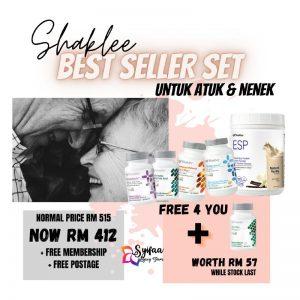 Shaklee Best Sellers Set Untuk Atuk dan Nenek