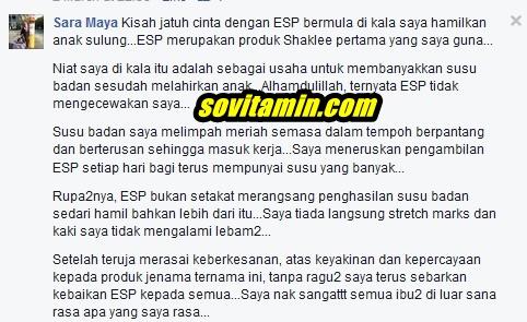 Mengapa Ibu Mengandung Perlu ESP