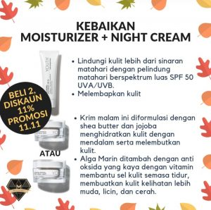 Promosi Shaklee 11.11 2018 - YOUTH Day and Night Cream