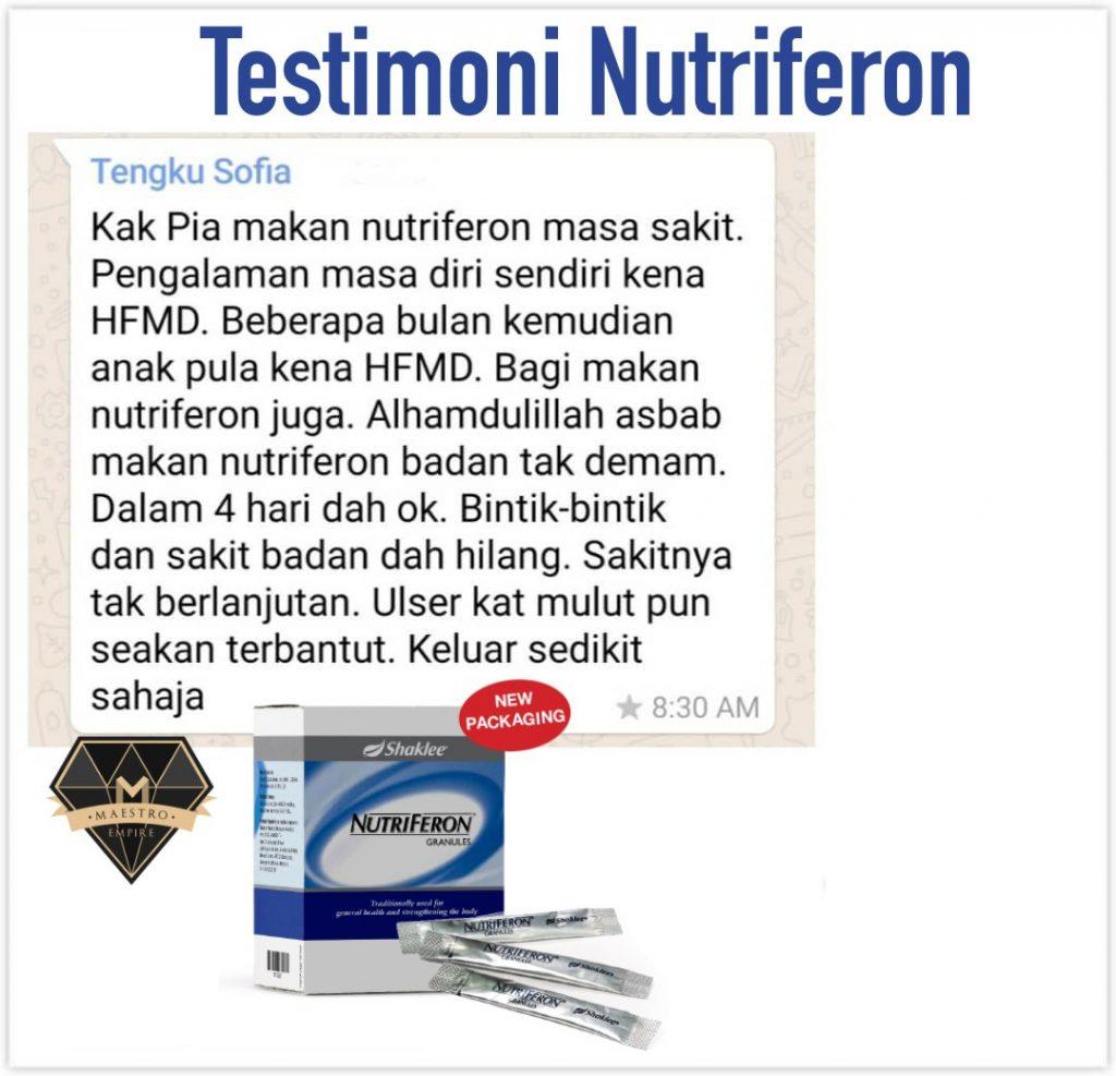 Nutriferon Bantu Legakan HFMD