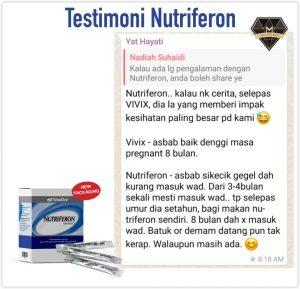 Nutriferon Bantu Tingkatkan Sistem Imun