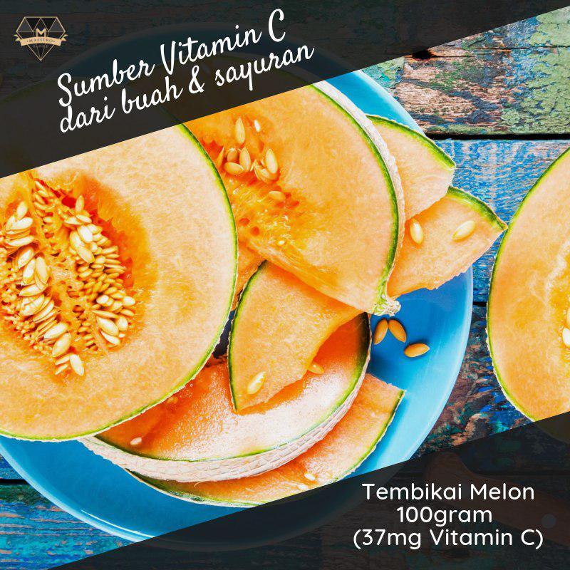 tembikai melon sumber vitamin c