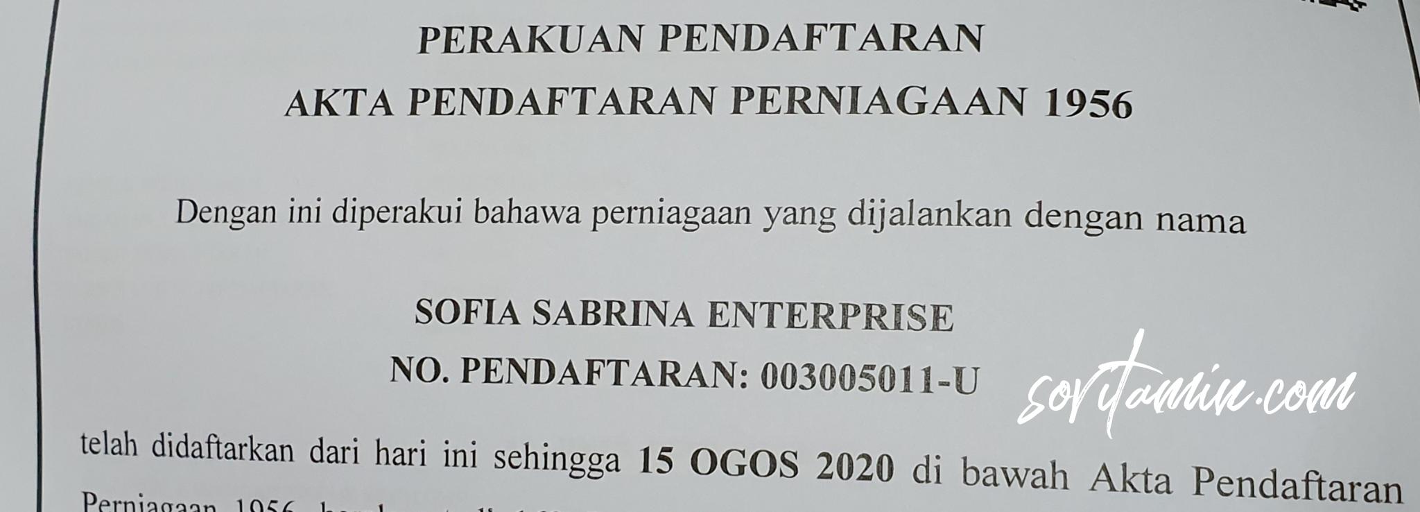 Sofia Sabrina Enterprise