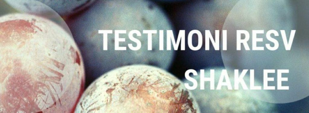 Testimoni ResV Shaklee