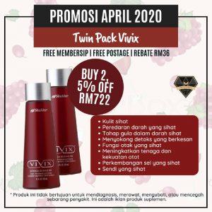 Vivix Twin Pack Promo