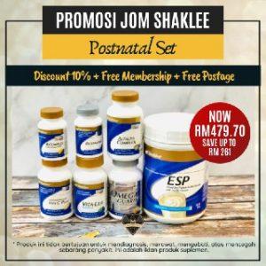 Promosi Shaklee Mei 2020
