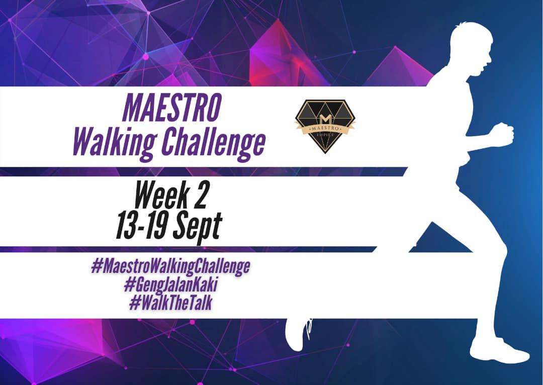 maestro walking challenge