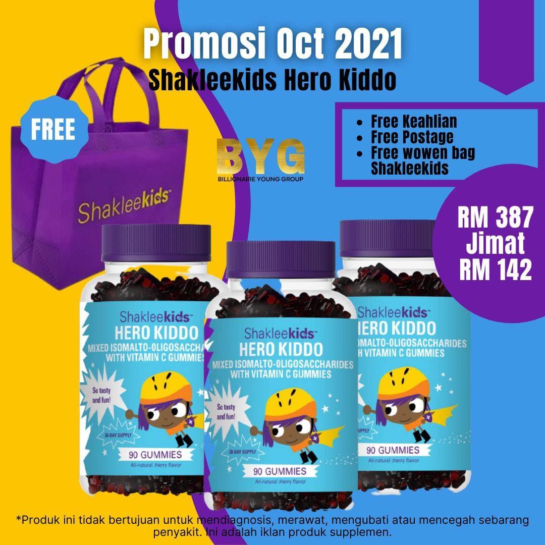 promosi shaklee oktober 2021